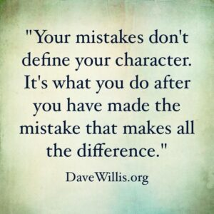 MISTAKES DEFINED.
