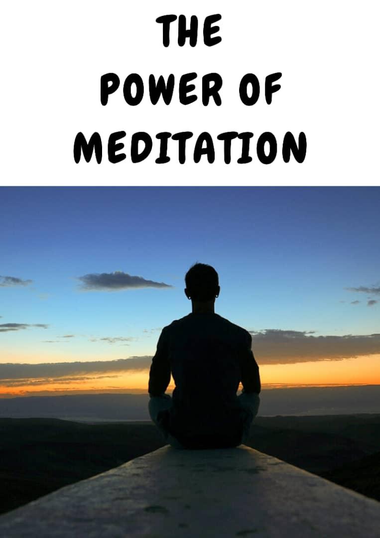 POWER OF MEDITATION.
